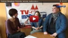 Goście Okrągłego Stoliczka: Wesoła, malborska ekipa z Bitwy na głosy - Milena Rachańska i Piotr Jacyno