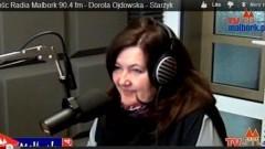 Gość Radia Malbork 90'4 FM w TvMalbork.pl: Dorota Ojdowska - Starzyk