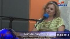 Gość Radia Malbork - Danuta Kuczewska - 23.08.2012