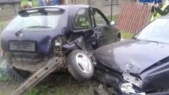 NOWY DWÓR: AUTO UDERZYŁO W NICH ZANIM ZDĄŻYLI WYJECHAĆ NA DROGĘ - 06.06.2013