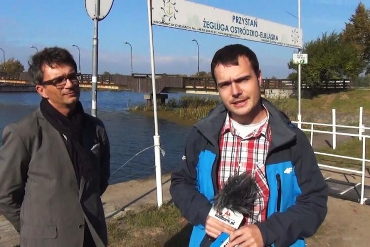 MODERNIZACJA NABRZEŻA NAD NOGATEM! BĘDZIE NOWOCZESNA PRZYSTAŃ W MALBORKU - 09.10.2013