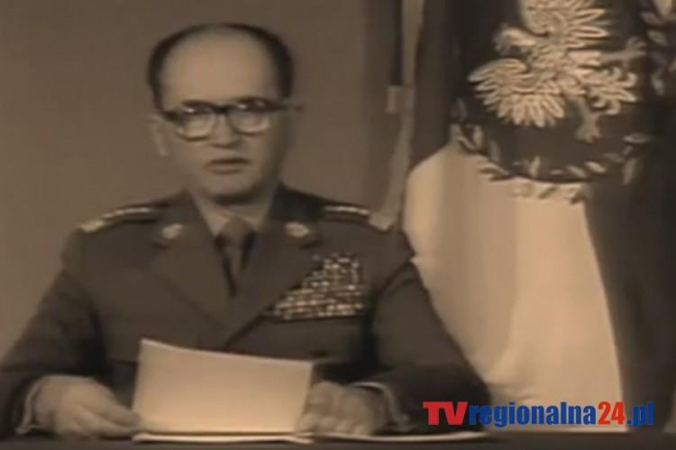 WOJCIECH JARUZELSKI WPROWADZA STAN WOJENNY 1981-1983