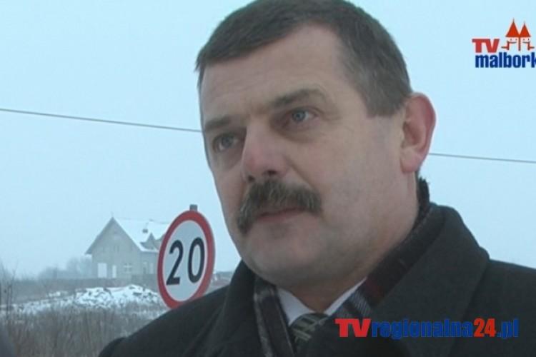 INFORMACJA STAROSTY SZTUMSKIEGO W SPR. UL. KOCHANOWSKIEGO - 12.02.2014