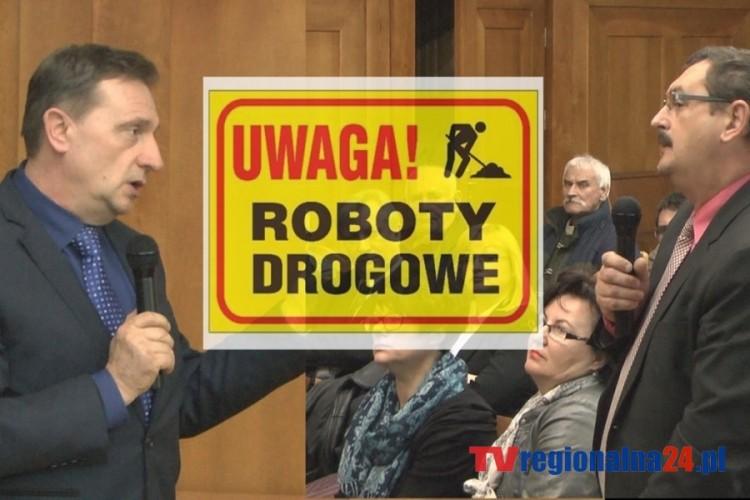 REMONTY DRÓG W MALBORKU. ZOBACZ NAGRANIE Z KOLEJEJ DEBATY Z BURMISTRZEM - 12.03.2014