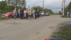 DZIURAWY PROBLEM NA OSIEDLU PRZY PIASKOWEJ W MALBORKU- 16.05.2014