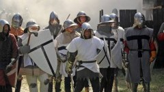PIĘTNASTA ŻYWA LEKCJA HISTORII W MALBORSKIEJ TWIERDZY ZAKOŃCZONA. XV OBLĘŻENIE MALBORKA FOTORELACJA