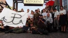 OBCHODY 70.ROCZNICY WYBUCHU POWSTANIA WARSZAWSKIEGO W SKLEPACH CYNAMONOWYCH W MALBORKU - 01.08.2014