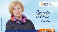 Jolanta Leszczyńska - kandydatka do Sejmiku Województwa Pomorsiego