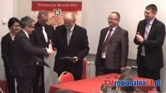 FUNDACJA MATER DEI PRZEKAZAŁA ŚRODKI NA ODBUDOWĘ MALBORSKIEJ FIGURY MADONNY - 13.03.2015