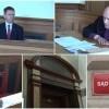 Kuchennym nożem pociął baner. Sąd umarza postępowanie wobec burmistrza. Widmo przedterminowych wyborów oddalone – 30.03.2017