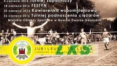 Nowy Dwór Gd. Jubileusz na sportowo. Obchody 70 - lecia LKS Żuławy - 4/8/25/26.06.2016