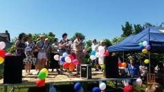Gminny Dzień Dziecka na boisku sportowym w miejscowości Kraśniewo - 04.06.2016