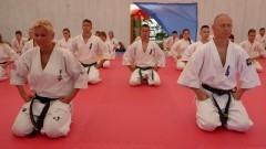 Sianożęty: Mistrzyni świata i europy trenowała zawodników Malborskiego Klubu Kyokushin Karate - 26.08.2016