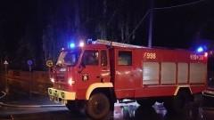 Jantar. Nocny pożar i wybuch - 29.08.2016