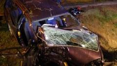 21-latek ranny w wypadku w Tragaminie. W akcji użyto śmigłowca ratownictwa medycznego – 29.08.2016