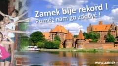 """Pomóżcie nam pobić rekord! Muzeum Zamkowe w Malborku organizuje akcję """"Zamek bije rekordy"""" 10-11.09.2016"""