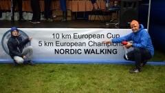Ryszard i Jan Walendziak Vice Mistrzami Europy w nordic walking na 5 kilometrów