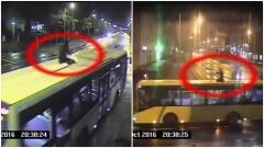 Elbląg: To się nazywa parcie na szkło. Jeździł na autobusie by zaistnieć w sieci. Policja wystawiła bilet wart 500 zł – 09.10.2016