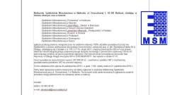 Ogłoszenie MSM o nieruchomości, położonej przy ul. płk. Stanisława Dąbka 94 w Elblągu - 11-21.10.2016