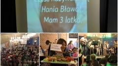 """Mieszkańcy zebrali ponad 17 tys. zł na leczenie Hani. """"Jak oni śpiewają"""" w Nowym Stawie - 19.10.2016"""