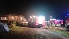 Pożar domu w Postolinie. Prawdopodobna przyczyna – nieszczelność przewodu kominowego – 24.10.2016