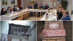 Osadzeni w więzieniach idą do pracy. Konferencja dotycząca Rządowego Programu Pracy Więźniów w Zakładzie Karnym w Malborku - 25.10.2016