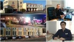 Wypadek w Poliksach i pożar w Postolinie. Strażacy ratowali płonące budynki gospodarcze! Weekendowy raport sztumskich służb mundurowych – 24-31.10.2016