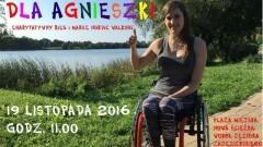 """SZTUM: Charytatywny Bieg i Marsz Nordic Walking """"Dla Agnieszki"""". Weź udział i wesprzyj zawodniczkę. Do nabycia koszulki - """"Biegnę dla Agnieszki..."""" - 19.11.2016"""