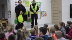 Nowy Dwór Gd. Policjanci z wizytą w przedszkolu - 7.11.2016