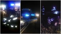 Malbork: 4 osoby trafiły do szpitala. Wypadek na DK55 przy skręcie na Kościeleczki - 08.11.2016