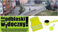 """""""ŚWIECĘ PRZYKŁADEM"""" i noszę elementy odblaskowe. Zapraszamy mieszkańców Malborka na Plac Jagiellończyka gdzie odbędzie się akcja zorganizowaną przez U3W, straż miejską i policję - 02.12.2016"""