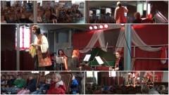 Mirmir, olbrzym z krajów nadbałtyckich zabrał nowostawskie dzieci w podróż w poszukiwaniu swojej mamy. Spektakl słowno-muzyczny pt. NIEPRZECIĘTNIE DUŻE HISTORIE - 17.11.2016