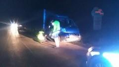 28-latka potrącona na drodze do Dzierzgonia. Kierowca jej nie widział. Nie miała odblasków... - 27.11.2016