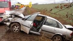 Wypadek w Myszewku - 27.11.2016