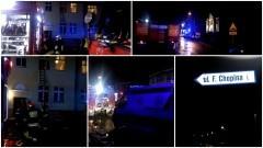 Tragiczny pożar przy ul. Chopina w Malborku. Mężczyzna zginął na miejscu – 05.12.2016
