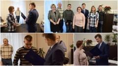 Burmistrz Miasta Malborka pogratulował niepełnosprawnym medalistom Mistrzostw Polski Juniorów - 15.12.2016