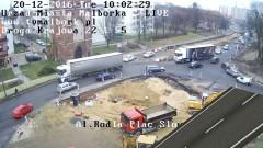 Budowa skrzyżowania przy Al. Rodła i Placu Słowiańskim z mozołem posuwa się naprzód. Będzie tymczasowa droga na Sztum – 20.12.2016