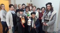 Sztumscy harcerze przekazali betlejemskie światełko pokoju! - 22.12.2016