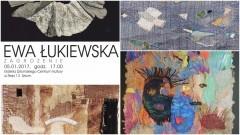 """Wystawa prac Ewy Łukiewskiej - """"Zagrożenie"""" - 05.01.2017"""