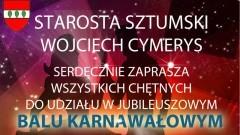 Uczcij Nowy Rok 2017 Balem Karnawałowym Starostwa Powiatowego w Sztumie! - 04.02.2017