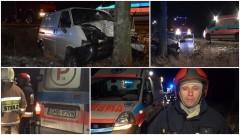 Wypadek w Popowie. Busem uderzył w przydrożne drzewo – 12.01.2017