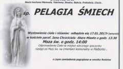 Zmarła Pelagia Śmiech. Żyła 86 lat.