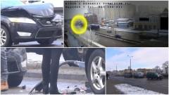 Malbork: Wystarczyła chwila nieuwagi, by doszło do groźnie wyglądającej kolizji - 17.01.2017
