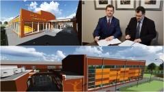 Umowa podpisana. Będzie sala gimnastyczna przy Szkole Podstawowej nr 3 w Malborku - 20.01.2017 (Zobacz wizualizacje)