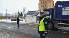 Nowy Dwór Gd. Bezpieczny Pieszy. Akcja policji - 19.01.2017