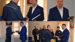Nowy Dwór Gd. Podinsp. Krzysztof Kiwak po 35 latach przeszedł na emeryturę - 2.02.2017