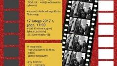 """Malborski Klub Filmowy Zaprasza na seans filmu """"Popiół i diament"""".- 17.02.2017"""