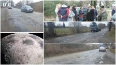 Polne drogi są w lepszym stanie. Apel o niezwłoczny remont drogi wojewódzkiej 515 koło Dzierzgonia – 21.03.2017