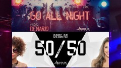 Go All Night - 50//50 - Dołek Club zaprasza 24-25.03.2017