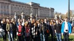 Uczniowie Gimnazjum nr 1 w Malborku na wycieczce w Wielkiej Brytanii - 22.03.2017